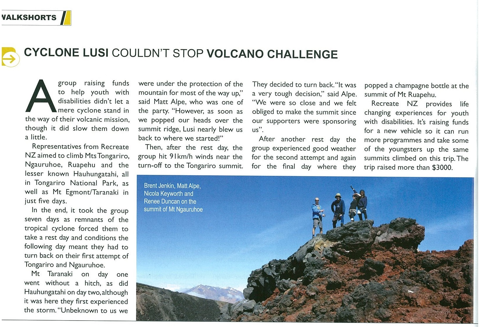5 Volcanoes 5 Days Wilderness Mag 2014 crop