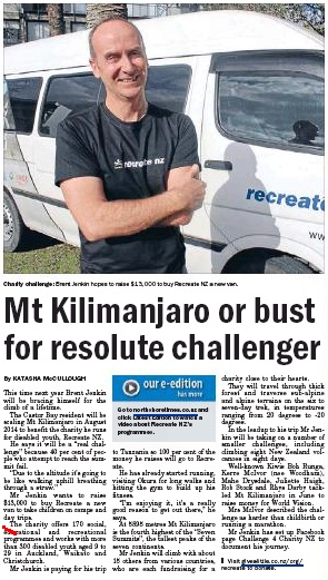 brent kili north shore times august 2013