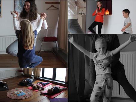 Découverte du yoga enfant : atelier parent/enfant