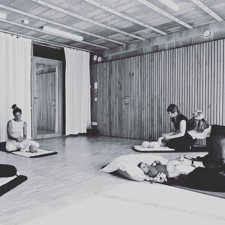 """Cycle de 3 ateliers """"massage bébé"""""""