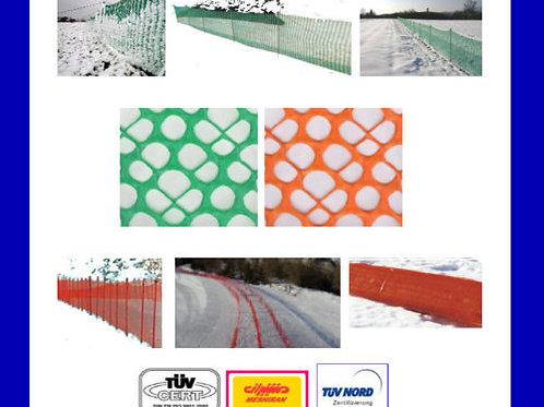 Schneefangzaun 30 x 1.20 Meter extra stabil