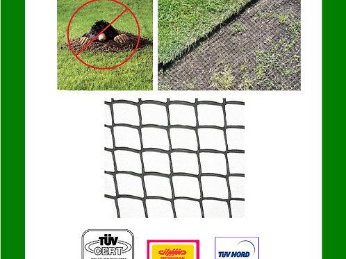 Maulwurfnetz 1,20x30 m +50 Erdnägel