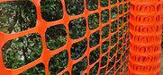Absperrzaun 30m x 1m  120g/m²