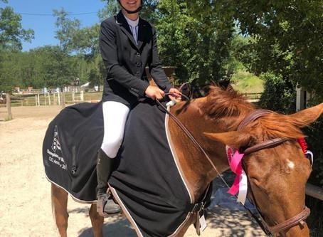 Une vice championne au Château Perron 👏🍾!!