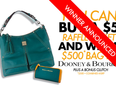 We're Raffling Off A Dooney & Bourke Bag! (Winner Announced)