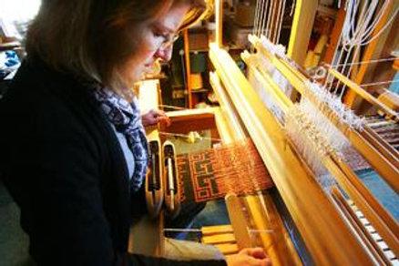 """Deb Essen, """"Color in Weaving"""" workshop"""