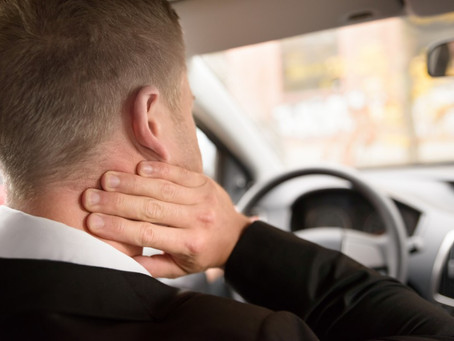How auto accidents can result in chronic pain problems