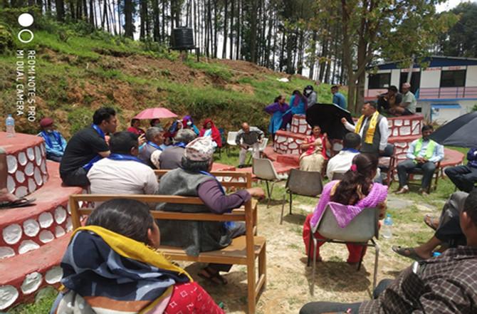 布衛生棉及婦女衛教當地種子計畫