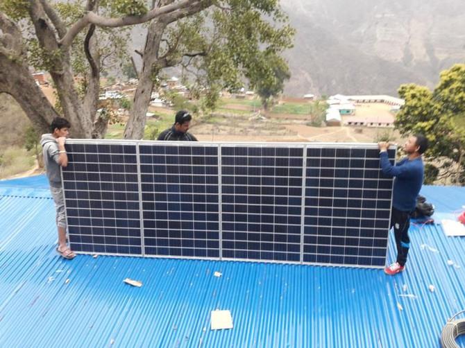 山區醫療所太陽能板計畫