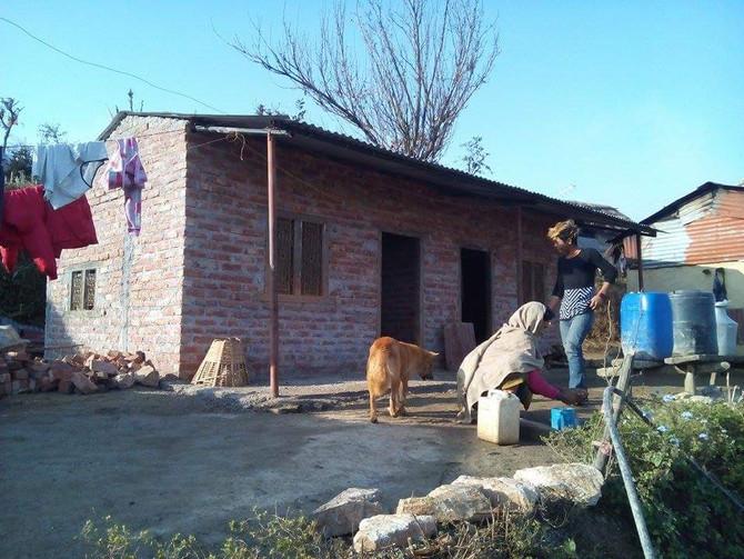 紅磚屋重建