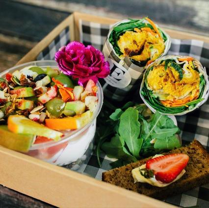 Vegetarian Wrap box