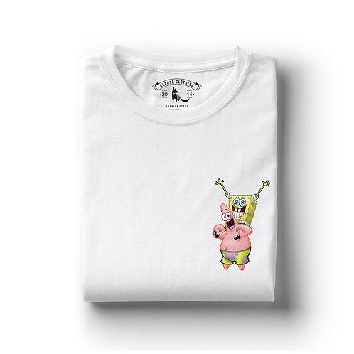 Tshirt Branca Patrick & Bob