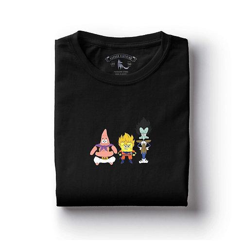 Tshirt Preta Bob Esponja Cosplay