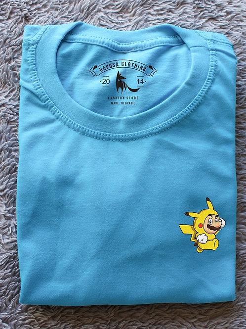 T'shirt MarioXu baby Blue