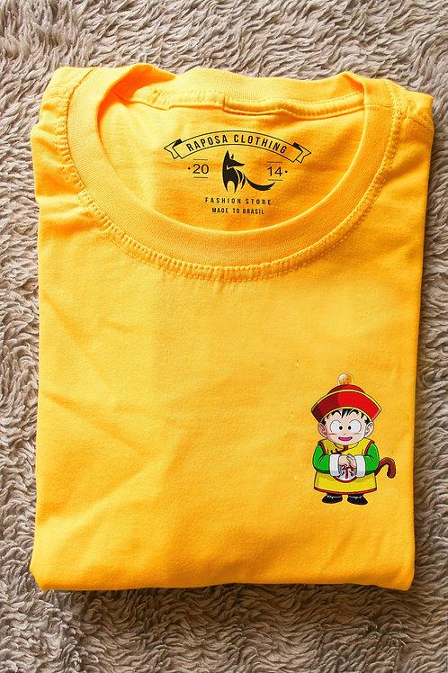 Tshirt Amarela Gohan