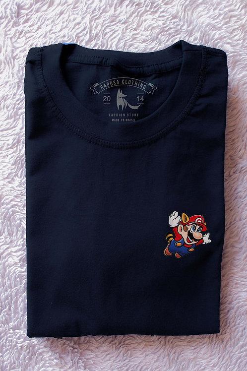 T'shirt Mario Castor Black