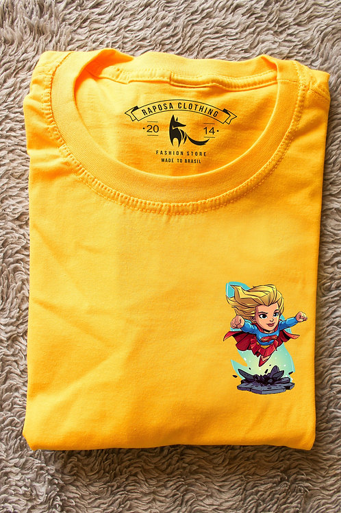 Tshirt Yellow Super Woman