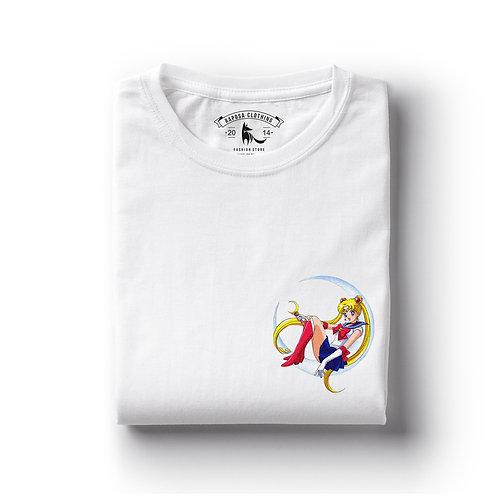Tshirt Branca Sailor Luna