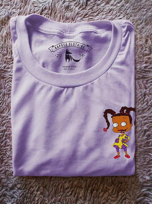 Tshirt Lilás  Susie Rugrats