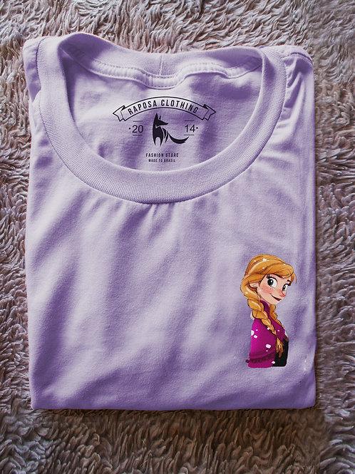 Tshirt Lilas Ana  Kids