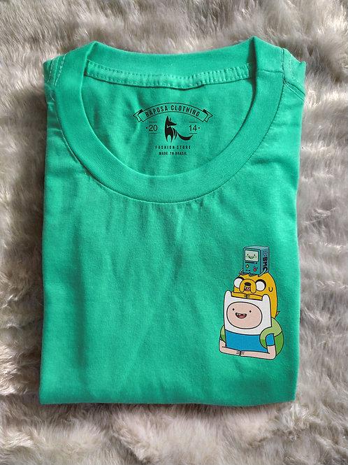 Tshirt Geek Hora da Aventura  Kids