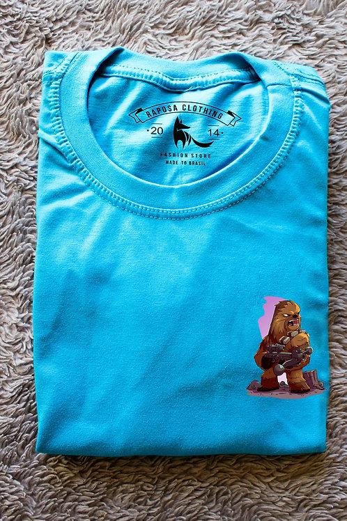 Tshirt Blue Chewbacca