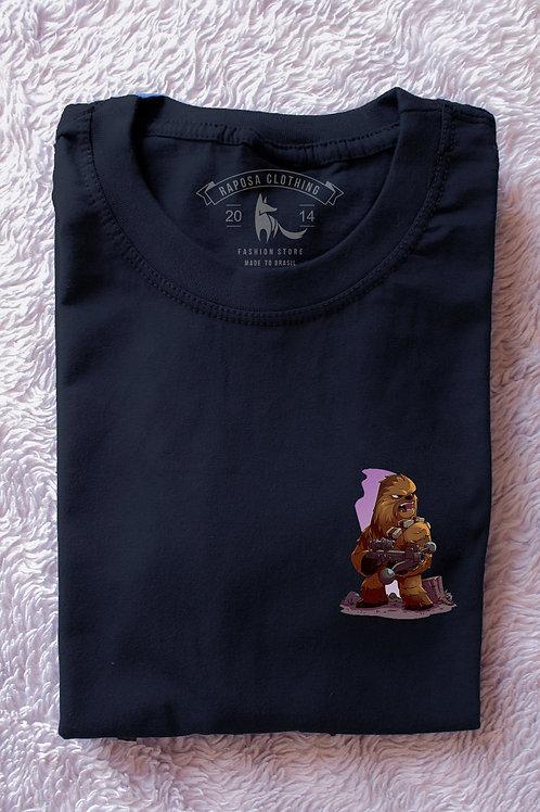 Tshirt Black Chewbacca