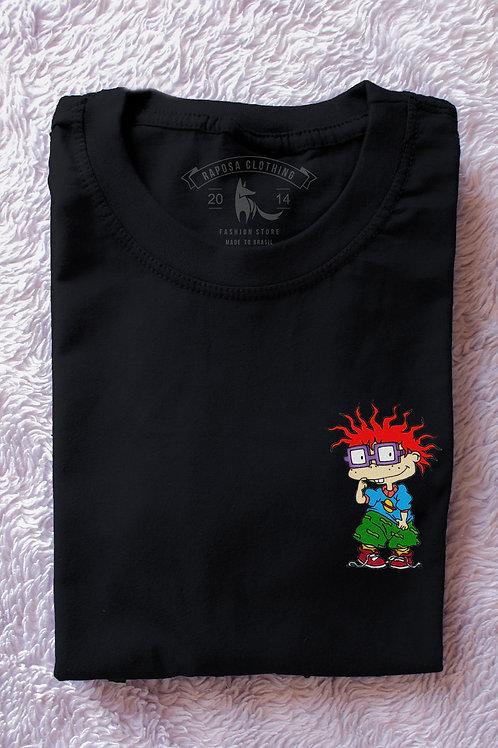 Tshirt Black Chukie Rugrats