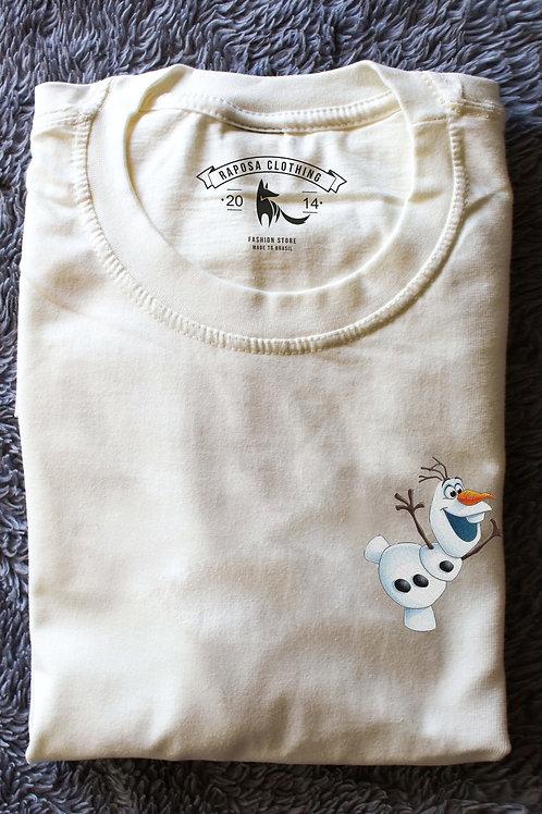 Tshirt Branca Olaf