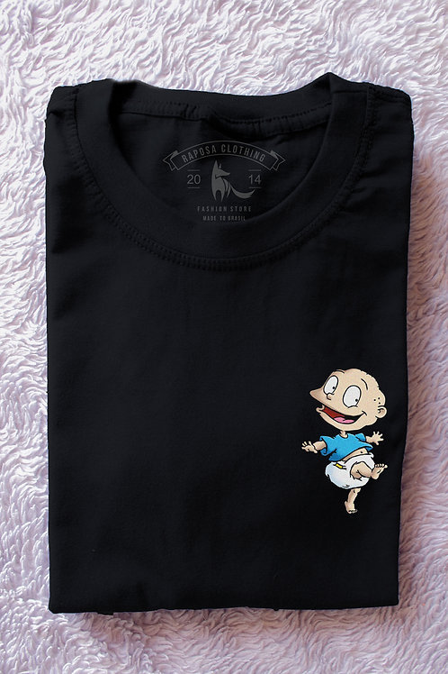 Tshirt Black Tommy  Rugrats