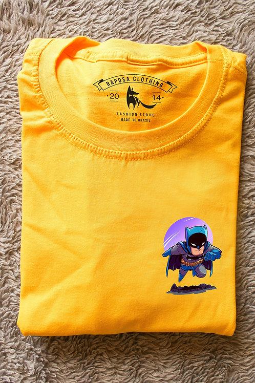 Tshirt Amarela Batman