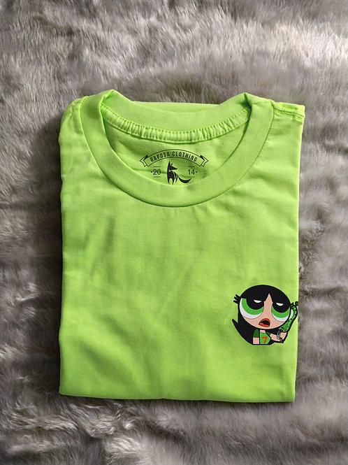 Tshirt Geek Verde Docinho Kids