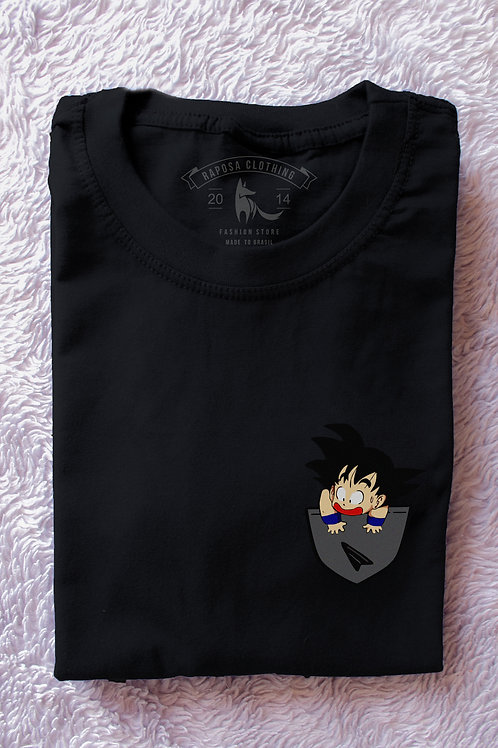 Tshirt Black Dragon Ball Bolso