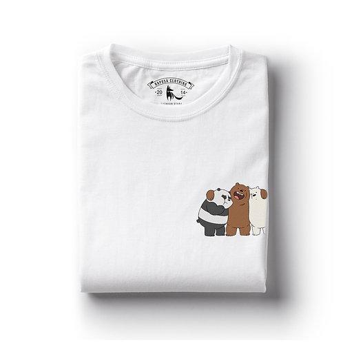 Tshirt Branca Urso sem curso