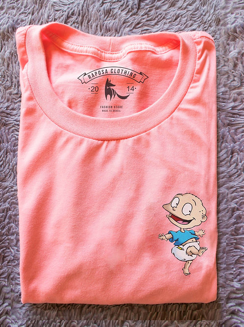 Tshirt Rosa Tommy Rugrats