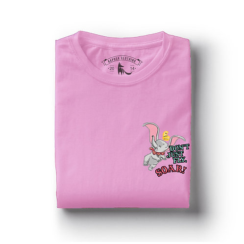 Tshirt Rosa  Dumbo Just Flay