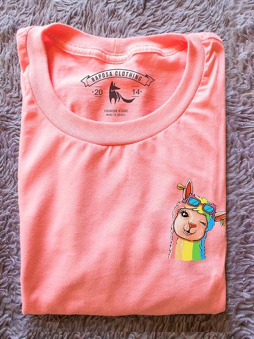 Tshirt Rosa Vai Ilhama