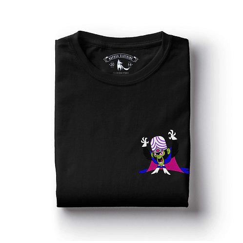 Tshirt Preta Macaco Louco