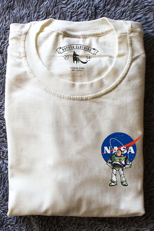 Tshirt Branca Nasa Buzz Kids