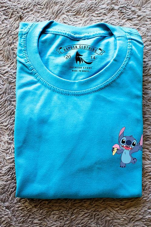 Tshirt Stich Azul