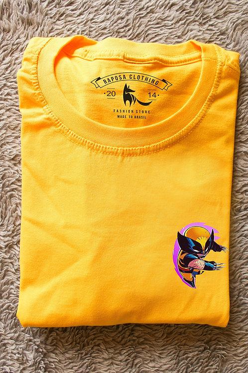 Tshirt Yellow Wolverine