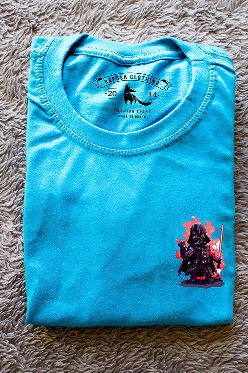 Tshirt Blue Darth Vader