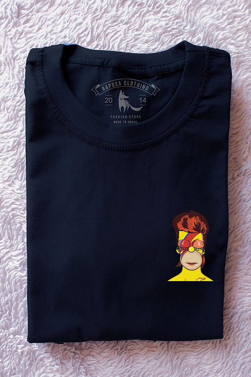 T'shirt Homer Be Bowie