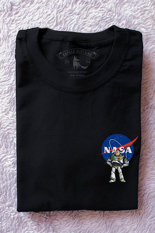 Tshirt Black Nasa Buzz Kids