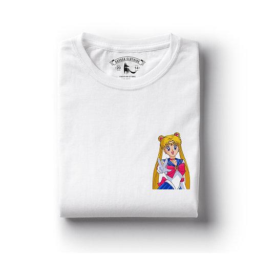 Tshirt Branca Sailor V