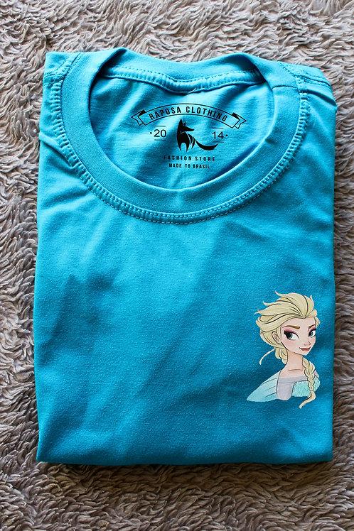 Tshirt Blue Elsa  Kids