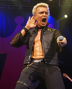 Legendary Billy Idol.