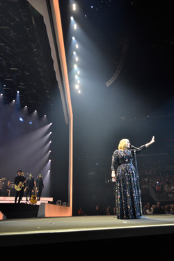 Adele lights up LA.
