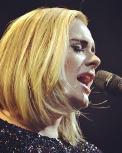 Adele, upclose & unguarded.
