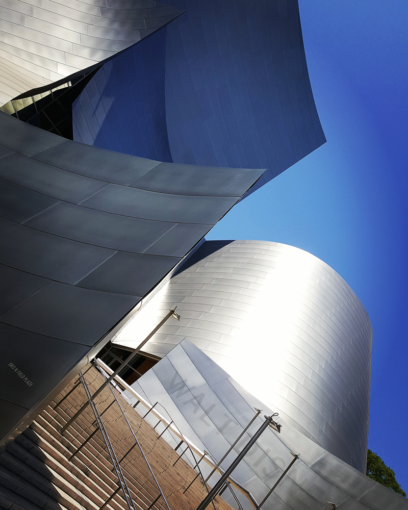Entrance to Walt Disney Hall